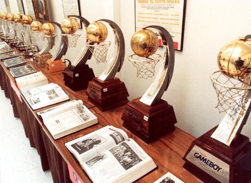 de la celebración del Torneo de Baloncesto de Navidad del Real Madrid ...